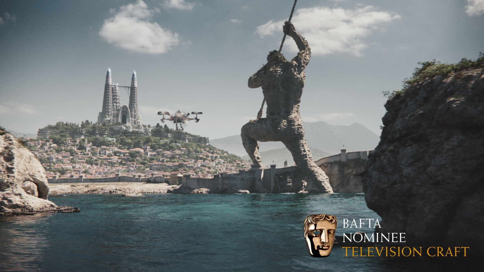 Bafta TV Craft Nomination for Emerald City
