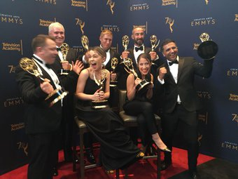 The Alienist wins Emmy for VFX